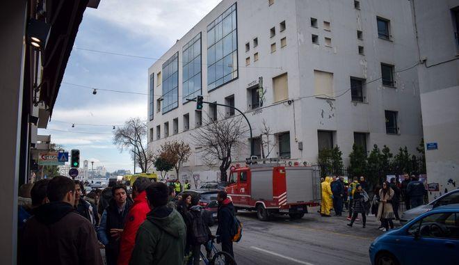 Ύποπτος φάκελος εντοπίστηκε στο κτήριο του Πανεπιστημίου Θεσσαλίας, στο Βόλο