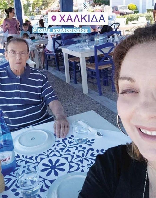 Αγνώριστος ο Τόλης Βοσκόπουλος