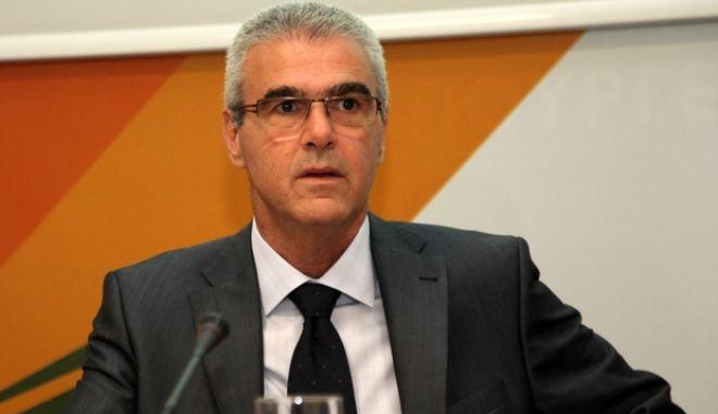 Συνέντευξη Τύπου του υπουργού Περιβάλλοντος, Ενέργειας και Κλιματικής Αλλαγής, Ευάγγελου Λιβιεράτου, για τη μετεγκατάσταση του ΥΠΕΚΑ, στην Πειραιώς, Τετάρτη 25 Ιουλίου 2012. (EUROKINISSI/ΓΕΩΡΓΙΑ ΠΑΝΑΓΟΠΟΥΛΟΥ)