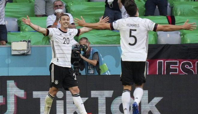 """Η Γερμανία επιβλήθηκε της Πορτογαλίας και """"βλέπει"""" πρόκριση"""