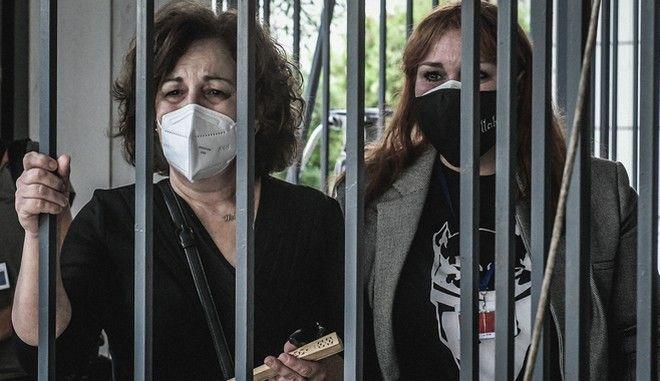Ανάγνωση της απόφασης για τη δράση της Χρυσής Αυγής, την Τετάρτη 7 Οκτωβρίου 2020. (EUROKINISSI/ΤΑΤΙΑΝΑ ΜΠΟΛΑΡΗ)