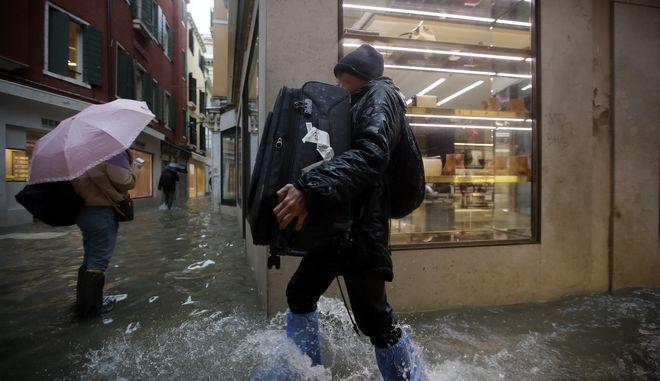 Η πλημμυρισμένη Βενετία - Φωτό αρχείου