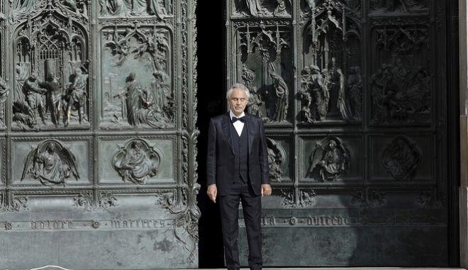 Ο διάσημος Ιταλός τενόρος Αντρέα Μποτσέλι