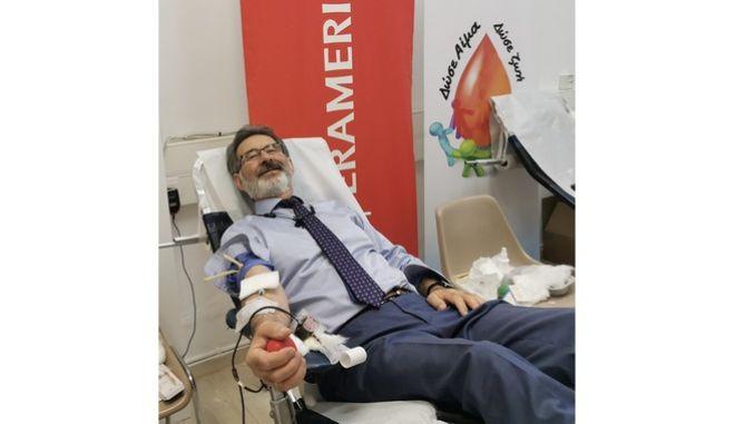 Η INTERAMERICAN συνεισφέρει στην αξία της Εθελοντικής Αιμοδοσίας