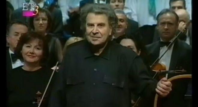 Όταν ο Μίκης Θεοδωράκης έδινε συναυλία φιλίας στα Σκόπια