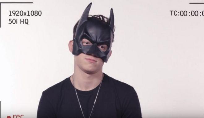 Η ακρόαση του Spider-man για τον ρόλο του Μπάτμαν