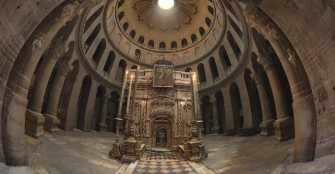 Μοναδική έκθεση «Πανάγιος Τάφος: Το μνημείο και το έργο» στο Βυζαντινό και Χριστιανικό Μνημείο