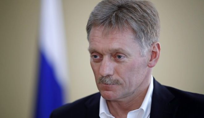 O εκπρόσωπος του Κρεμλίνου, Ντιμίτρι Πεσκόβ