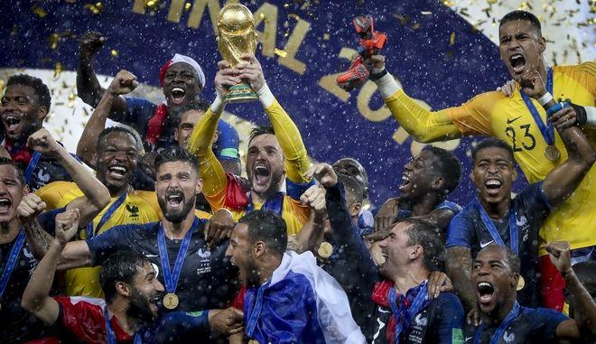 Γαλλία-Παγκόσμια πρωταθλήτρια
