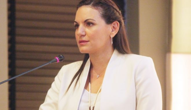 Η Βουλευτης της Ν.Δ Ολγα Κεφαλογιαννη διοργανωσε εκδηλωση οπου παρουσιασε ενα προγραμμα-μελετη με θεμα  Η αναβαθμιση του κεντρου της Αθηνας με επικεντρο το Αρχαιολογικο Μουσειο Εκτος της Ολγας Κεφαλογιαννη παρευρεθη και ο διαγραφεις απο την Ν.Δ προεδρος του ΕΒΕΑ Κωστας Μιχαλος  καθως και η Λινα Μενδωνη(πρ Γ.Γ Υπ. Πολιτισμου)- ΦΩΤΟ ΧΡΗΣΤΟΣ ΜΠΟΝΗΣ//EUROKINISSI