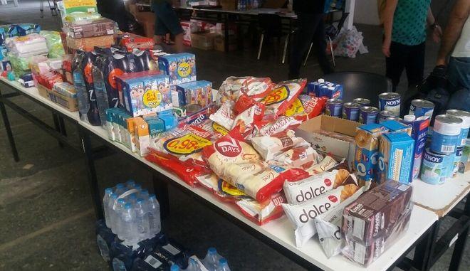 Θεσσαλονίκη: Συγκινητική η προσφορά των πολιτών για τους πυρόπληκτους