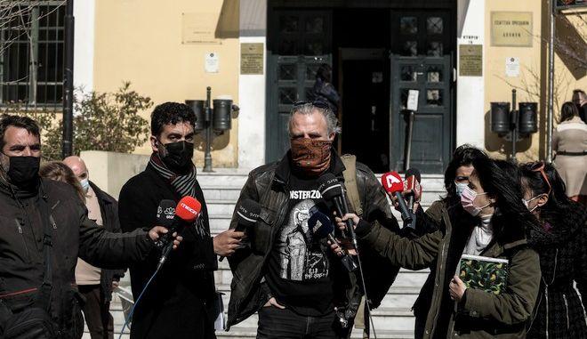Ο πρόεδρος του Πειθαρχικού Συμβουλίου του Σωματείου Ελλήνων Ηθοποιών Πασχάλης Ταρούχας