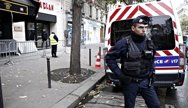 Paris attacks one year anniversary. Bataclan concert hall in Paris on Nov. 12, 2016 /        . ,   12 , 2016