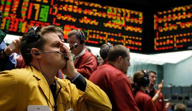 Φωτό αρχείου: Στιγμιότυπο από την Wall Street