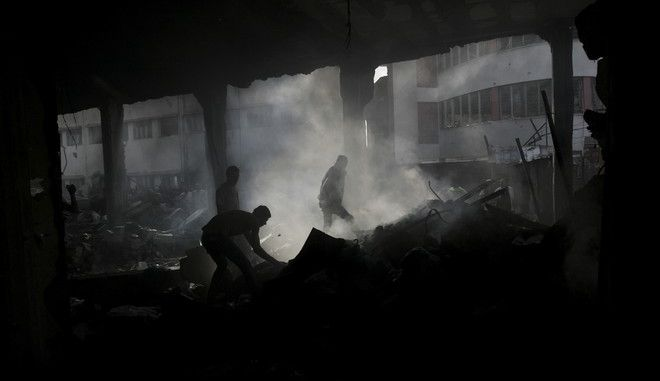 Πέντε Παλαιστίνιοι νεκροί από έκρηξη στη Γάζα