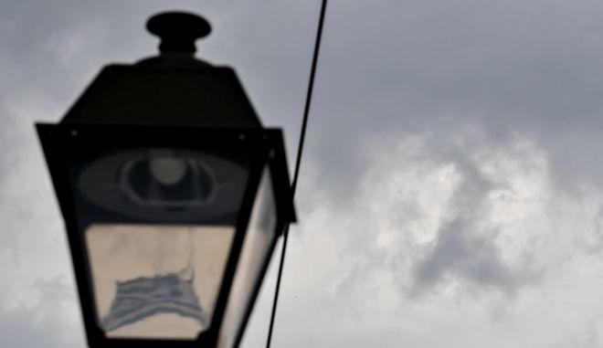 Καταιγίδα πάνω από την Αθήνα