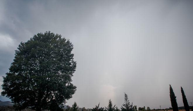 Σύννεφα στην Καλαμπάκα