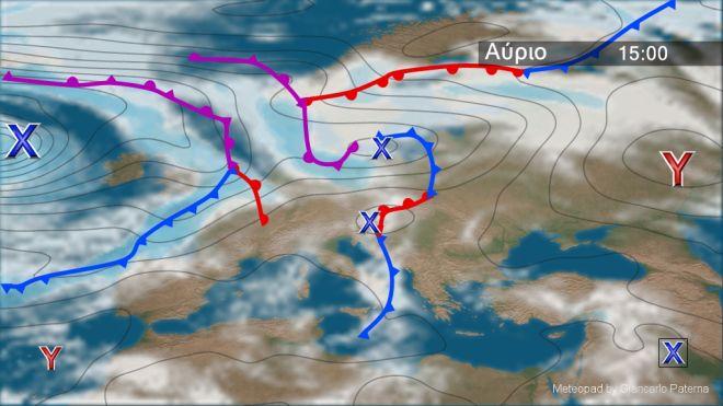 Σχεδόν αίθριος καιρός την Τετάρτη - Άνεμοι έως 4 μποφόρ στα πελάγη