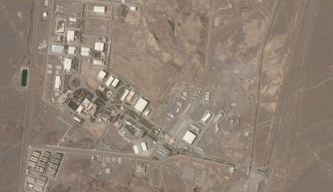 Οι πυρηνικές εγκαταστάσεις της Νατάνζ στο Ιράν