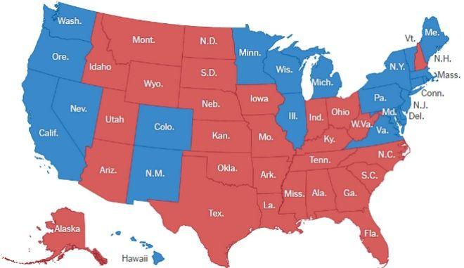 Αμερικανικές εκλογές: Οι πολιτείες - κλειδιά όπου θα κριθεί η προεδρική εκλογή