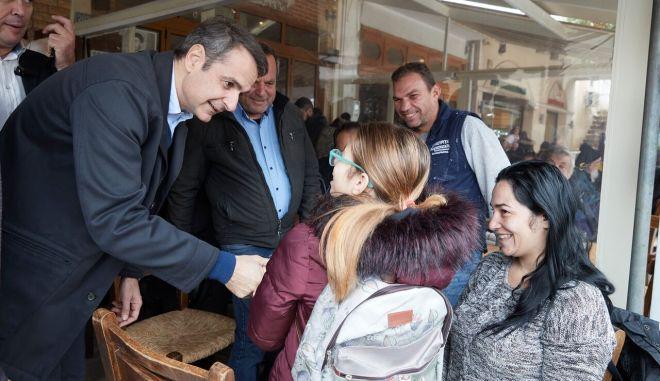Μητσοτάκης: Απέναντι στη συμφωνία των Πρεσπών διότι εκχωρεί μακεδονική γλώσσα και εθνότητα