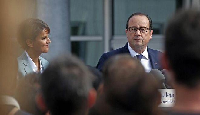 Με αποδοκιμασίες έγινε δεκτός ο Ολάντ σε λαϊκό προάστιο του Παρισιού