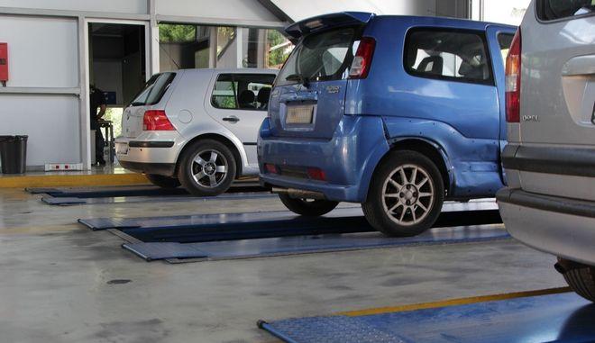 Τεχνικός έλεγχος αυτοκινήτων σε ΚΤΕΟ
