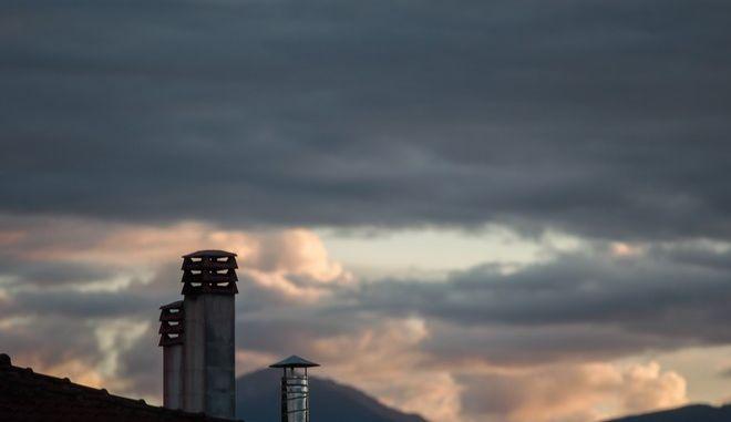 Συννεφιά πάνω από την πόλη των Τρικάλων