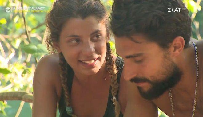 Η Μαριαλένα Ρουμελιώτη και ο Σάκης Κατσούλης