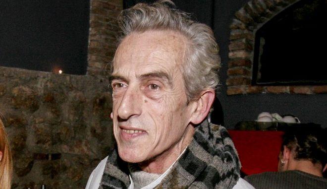 O ηθοποιός Τάκης Μόσχος
