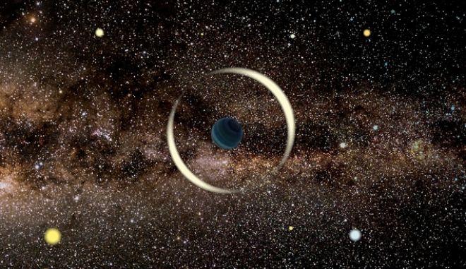 """Ένας ορφανός πλανήτης """"αιωρείται"""" στον γαλαξία μας"""