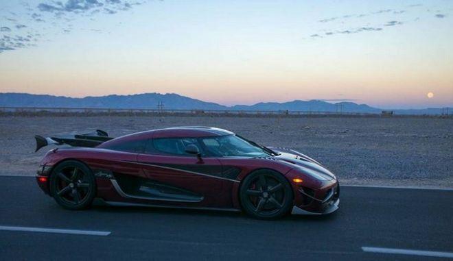 Koenigsegg Agera RS: Το πιο γρήγορο όχημα παραγωγής - Έσπασε το ρεκόρ ταχύτητας