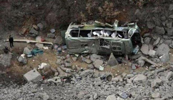 Μαρόκο: Πολύνεκρο δυστύχημα από σύγκρουση λεωφορείου με φορτηγό