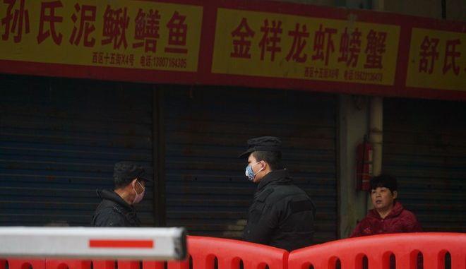 Η πόλη του Ουχάν στην Κίνα όπου καταγράφηκαν τα πρώτα κρούσματα του νέου κοροναϊού