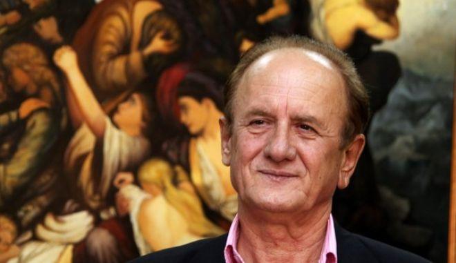 9-9-2011-ΑΘΗΝΑ-ο πρόεδρος του σωματείου αυτοκινητιστών ταξί Αττικής, Θύμιος Λυμπερόπουλος.(EUROKINISSI-ΓΙΩΡΓΟΣ ΚΟΝΤΑΡΙΝΗΣ)