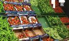 Λαχανικά σε σούπερ μάρκετ