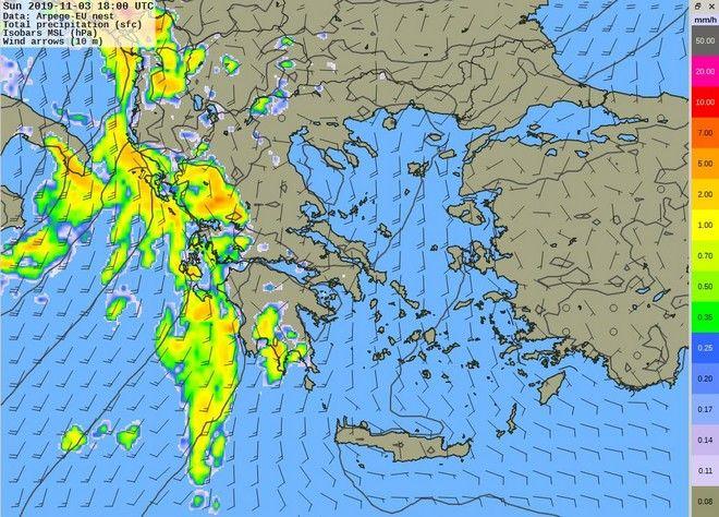 Στη δίνη της κακοκαιρίας: Έρχονται ισχυρές βροχές και καταιγίδες - Νέα μεταβολή τη Δευτέρα