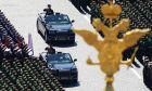 Παρέλαση για τη νίκη κατά του ναζισμού στη Ρωσία (Alexander Wilf, Host Photo Agency via AP)