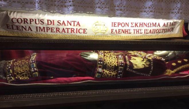 Ελληνική αντιπροσωπεία στη Βενετία για τα λείψανα της Αγίας Ελένης