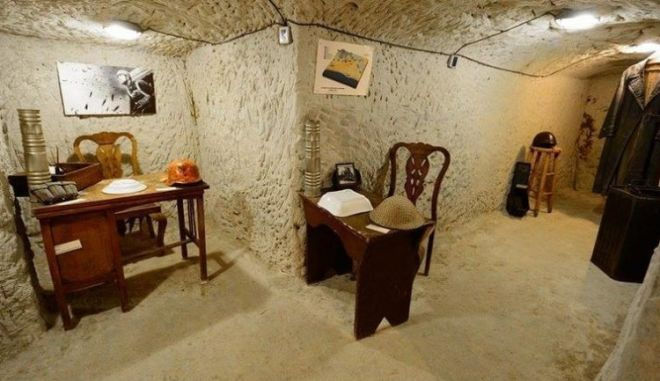 Ένα μοναδικό μουσείο ιστορικής μνήμης που θυμίζει την περίοδο της γερμανικής κατοχής στην Κρήτη βρίσκεται στον Άνω Πλατανιά