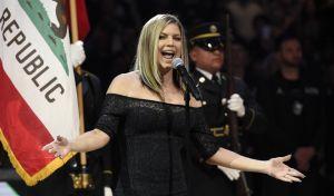 Η Fergie τραγούδησε τον πιο 'σέξι' αμερικανικό ύμνο