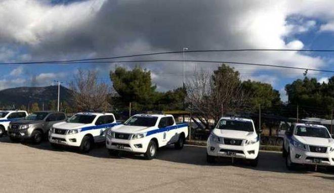 Δωρεά οχημάτων στην ΕΛ.ΑΣ. από τον δήμο Φυλής