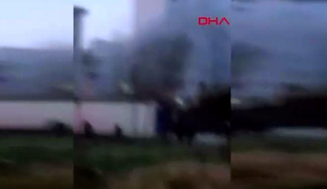 Κωνσταντινούπολη: Ελικόπτερο συνετρίβη σε κατοικημένη περιοχή - Τουλάχιστον 4 νεκροί