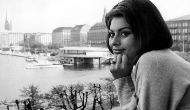 H Σοφία Λόρεν το 1962.