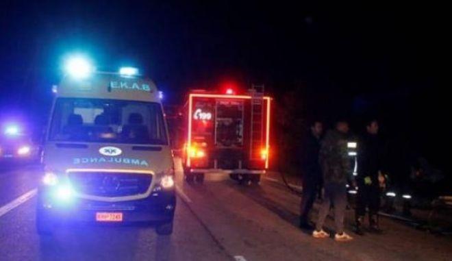 Τροχαίο δυστύχημα με νεκρούς δύο 29χρονους στο Νεοχώρι - Έπεσαν σε κανάλι