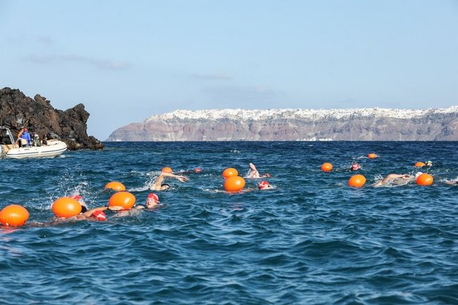 Open Water Swimming by Vikos photo @ Santorini Experience