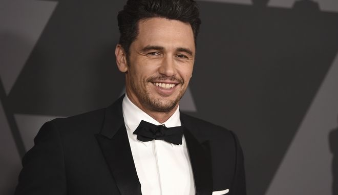 James Franco arrives at the 9th annual Governors Awards at the Dolby Ballroom on Saturday, Nov. 11, 2017, in Los Angeles. (Photo by Jordan Strauss/Invision/AP)