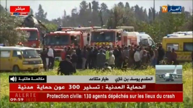Αεροπορικό δυστύχημα στην Αλγερία