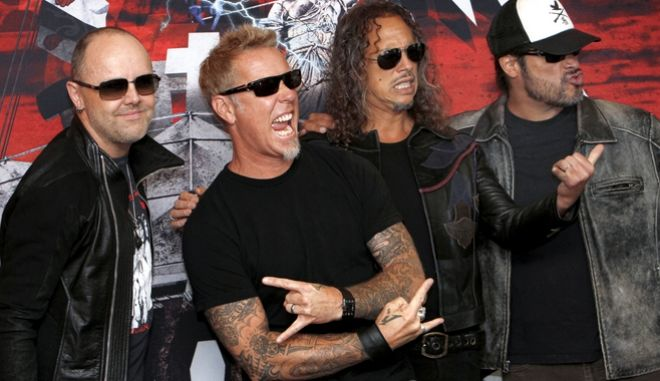 Oι Metallica.