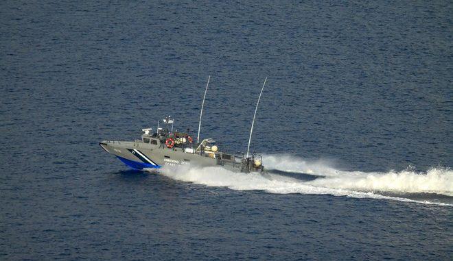 Σκάφος του Λιμενικού Σώματος (φωτογραφία αρχείου)